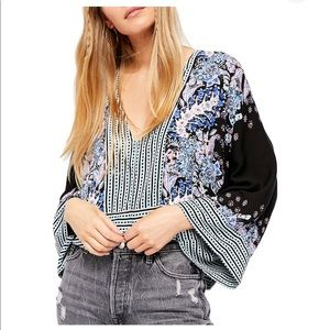 Free People Mix-In-Match Blouse